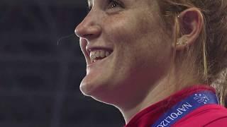 Download Sarah Mitton wins gold in shot put Video