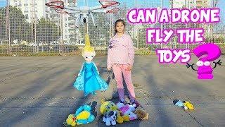 Download DRONE & TOYS - OYUNCAKLAR UÇMAYI ÖĞRENİYOR - Dron hangilerini uçurabilecek? Eğlenceli Çocuk Videosu Video