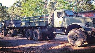 Download КрАЗ-214 против vs. IFA L60 Tauziehen / KrAZ 6x6 vs Opel Astra Car Tug of War Video