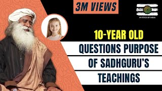 Download A little Girl Makes Sadhguru Laugh By Asking An Existential Question | Mystics of India | 2018 Video