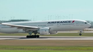 Download Air France Boeing 777-200ER Takeoff from Vancouver YVR Video