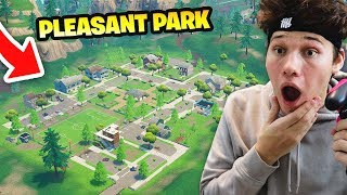 Download I ONLY LANDED AT PLEASANT PARK AND THIS HAPPENED... Fortnite Battle Royale Video
