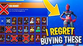 Download RARE Skins i REGRET Buying in Fortnite! RIP Bank... Video