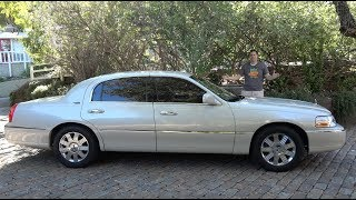 Download The Lincoln Town Car Was the Last True American Luxury Sedan Video