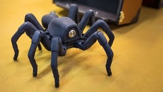 Download Inside Adam Savage's Cave: Awesome Robot Spider! Video