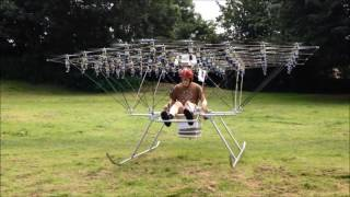 Download The Swarm Manned Multirotor Multicopter is Back Flying Video