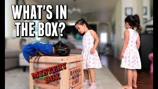 Download A MYSTERIOUS BOX APPEARED ON OUR DOOR STEP- ItsJudysLife Vlogs Video