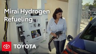 Download Hydrogen Refueling Explained | Toyota Mirai | Toyota Video