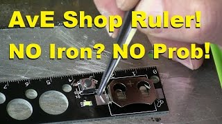 Download AvE Shop Ruler: AKA How to Solder WITHOUT a Sodding Iron! Video