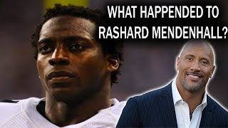 Download What Happened to Rashard Mendenhall? Now Works With the Rock!!! Video