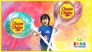 Download World's Largest Giant Chupa Chups Lollipops Video