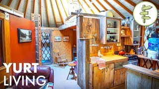 Download 14 Years Living Off-Grid in a Yurt - Man Shares Real Life Experience Video