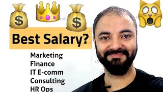 Download Which MBA branch highest paying? Marketing Fin Ops HR or IT Video