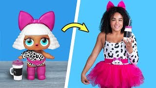 Download LOL Surprise Dolls In Real Life / 10 LOL Surprise Hairstyle And Clothes Ideas Video