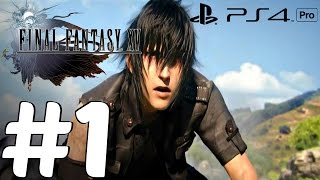 Download FINAL FANTASY XV - Gameplay Walkthrough Part 1 - Prologue PS4 PRO (Jp Dub) Video