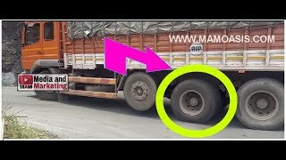 Download OUT OF LANE TO MAKE HAIRPIN BEND TURN - BHARATBENZ 3123 R Video
