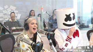 Download Marshmello & Anne-Marie Talk About Their New Song 'FRIENDS' | On Air with Ryan Seacrest Video