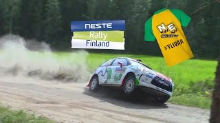 Download Neste Rally Finland 2016 | Crash + Huge Moments | SS7 Äänekoski-Valtra Video