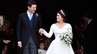 Download Princess Eugenie and Jack Brooksbank tie the knot Video