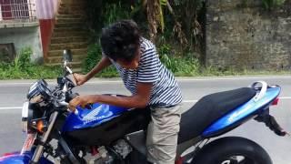 Download Honda hornet burnout by Janidu Nadun Video