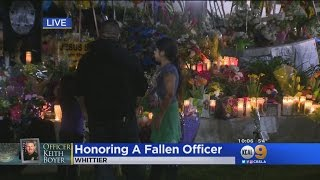 Download Whittier Community Continues to Honor Fallen Officer Keith Boyer Video