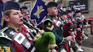 Download Edinburgh - Remembrance Parade 2016 [4K/UHD] Video
