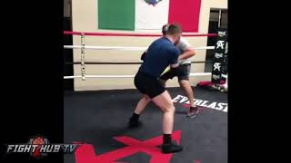 Download CANELO KILLS UPPERCUT BAG LOOKING RIPPED FOR GOLOVKIN FIGHT Video