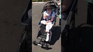 Download PART 2 DEMO: ADULT, MOBILITY STROLLER MADE BY ADAPTIVE STAR! Video