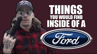 Download THINGS YOU WOULD FIND IN A FORD Video