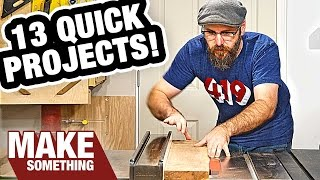 Download 13 Woodworking Projects You Can Make as Christmas Gifts! Video