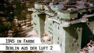 Download Flug über das zerstörte Berlin 1945 (in Farbe), Teil 2 Video