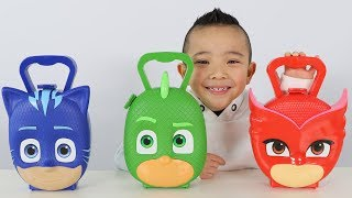Download PJ MASKS SURPRISE TOYS Opening Fun With Catboy Gekko Owelette And Ckn Toys Video