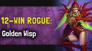 Download 12 Win Rogue: Golden Wisp [Kara Hearthstone Arena] Video