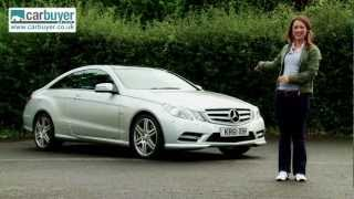 Download Mercedes E-Class coupe (2009-2013) review - CarBuyer Video