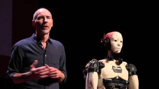 Download L'humanoïde qui vous sensibilise à la robotique | Gaël Langevin | TEDxÉcolePolytechnique Video