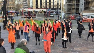 Download Flash mob: International Day for the Elimination of Violence against Women Video