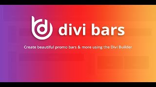 Download Getting Started with Divi Bars Video