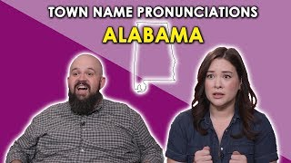 Download We Try to Pronounce Alabama Town Names Video
