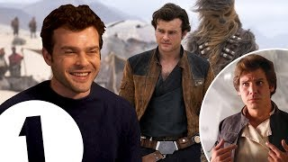 Download ″I wear Han Solo's jacket constantly!″ Star Wars newcomer Alden Ehrenreich on landing the epic role. Video