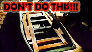 Download How NOT to build a jon boat/ bass boat/ fishing boat Video