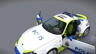 Download APB:R Swedish Police Car Design - Bishada Rapier Video