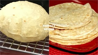 Download Homemade Soft Fluffy Roti / Chapati / Phulka Video Recipe | Bhavna's Kitchen Video