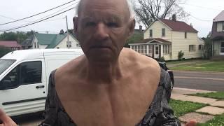 Download Seducing Older Women While Wearing a Grandpa Mask - Karaoke Cringe Video