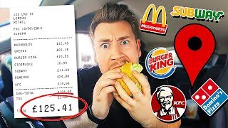 Download Letting Fast Food Employees Decide What I Eat For 24 Hours *FOOD CHALLENGE* Video