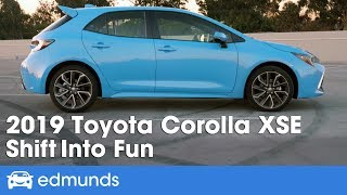 Download 2019 Toyota Corolla Hatchback XSE Review | Shift Into Fun | Edmunds Video
