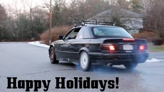 Download Turbo E36 Holiday Burnout!! Video