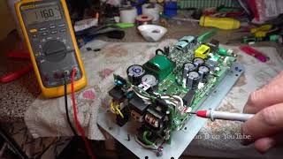 Mackie HD & SRM1801 Sub Woofer Repair + IRS20955 & IRS20957S 500