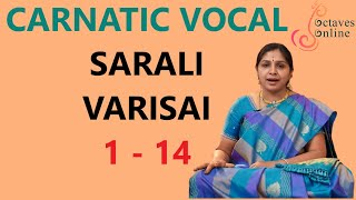 Download Sarali Varisai : 1 - 14 (All three speeds) Video