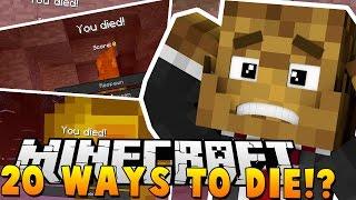 Download 20 WAYS TO DIE IN MINECRAFT!? - Minecraft Minigame Video