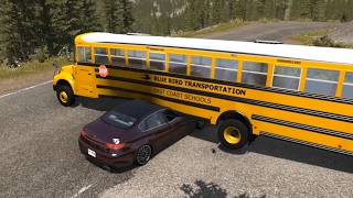 Download School Bus Crashes 5 (Interior View Edition) | BeamNG.drive Video
